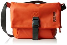 BREE Punch 98, blue, messenger M 83251098 Damen Umhängetaschen 48x35x13 cm (B x H x T), Orange (flame 125) - http://herrentaschenkaufen.de/bree/orange-flame-125-bree-punch-98-blue-messenger-m-cm-b