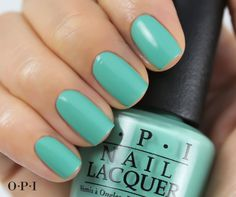 We can't help but love this #teal! My Dogsled is a Hybrid by #OPI.
