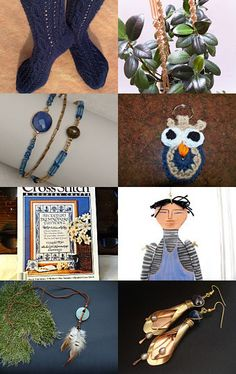 Winter Navy by Maggie Williams on Etsy--Pinned with TreasuryPin.com
