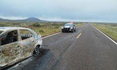 Muere conductor tras choque e incendio de su vehículo en la Janos - Agua Prieta | El Puntero