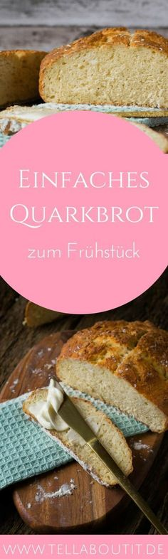 Perfektes Brot für das nächste Frühstück. Dieses Quarkbrot gelingt garantiert! Es schmeckt köstlich mit frischer Marmelade und kann auch super in Brötchenform gebacken werden. Alle werden es lieben!