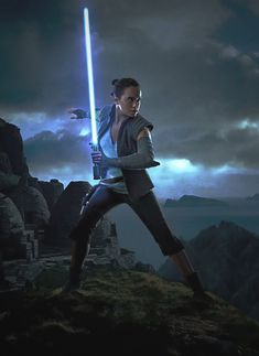 """Star Wars Passion on Twitter: """"Daisy Ridley for Star Wars: Episode VIII… """" Rey Star Wars, Star Wars Jedi, Star Wars Art, Daisy Ridley Star Wars, Fantasy Story, Fantasy Art, Star Wars Girls, Cinema, The Force Is Strong"""