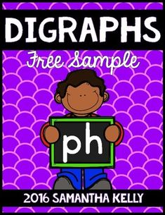 Digraphs - ph digraphs - ph word work With this resource, students will practice recognizing, reading, and writing words with the ph digraph. This set is a small sample of what is included in my other digraph sets. GET THE WHOLE BUNDLE for digraphs ch, sh, th, wh, and ck:Check it Out HERE!Here is what is included in this FREEBIE:2 Posters with a Chant/PoemPieces for an Anchor ChartWord/Picture CardsPh Flipbook3 No Prep PrintablesCheck out the other sets individually:Ch DigraphTh DigraphSh…