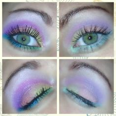 Bh cosmetics creation using their day and night palette