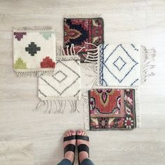 Caitlin Wilson Design | Good news! New rug samples arrived at the studio today!  Order your favorites online!