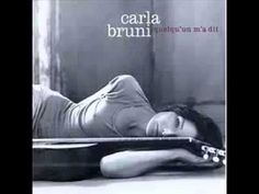 Carla Bruni - Quelqu'un m'a dit. I don't understand French but my mother told me she is saying~ someone told me you still love but I cannot remember who. This is one of my favorite songs ever by one of my most favorite people.
