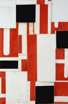 Cecil Touchon - Fusion Series #2389 - 2008  Collage on Paper - 9x6 inches
