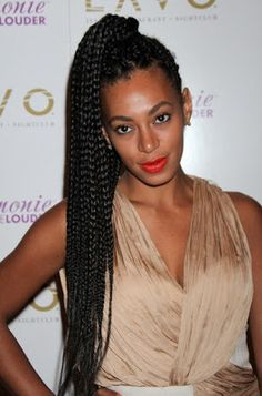 Big box braids hairstyles that rock. Awesome ways to style big box braids. Braided Hairstyles Updo, Braided Hairstyles For Black Women, Braided Updo, Protective Hairstyles, Summer Hairstyles, Hairstyles Haircuts, Trendy Hairstyles, Hairstyle Ideas, Box Braids Updo