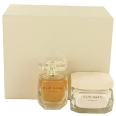 Le Parfum Elie Saab by Elie Saab Gift Set- 3 oz EDP Spray + 5.1 oz Body Cream  #ElieSaab