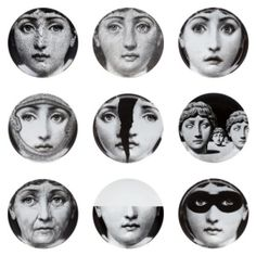 fornasetti plates by candace