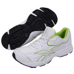 Reebok white men running shoes