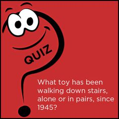 Toy Trivia! Test your toy knowledge with our weekly Toy quiz! What toy has been walking down stairs, alone or in pairs, since 1945? Answer: Slinky, Marine engineer Richard James invented Slinky in 1945. Check out the Bril Booster Seats! Easy to attach to any surface. A convenient and useful companion for your baby. Shop for Bril Booster Seat here http://www.brilindia.com/bril_booster.php #Bril #MakesLivingFun  **Like us on Facebook www.facebook.com/brilconnect**