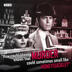 Double Indemnity 1944 directed by Billy Wilder. Femme fatele Barbara Stanwyck seduces Insurance agent Fred MacMurray in the great film noir double Indemnity Barbara Stanwyck, Golden Age Of Hollywood, Classic Hollywood, Old Hollywood, Hollywood Cinema, Martin Scorsese, Cary Grant, Taschen Books, Roman Noir