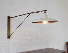 Julian Chichester Furniture - Arm pivots; 2 sizes; Over blk market table?