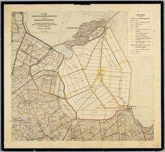 Plan voor de verkaveling van de Wieringermeer, 1929