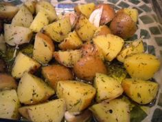 Varomeando: Patatas al romero