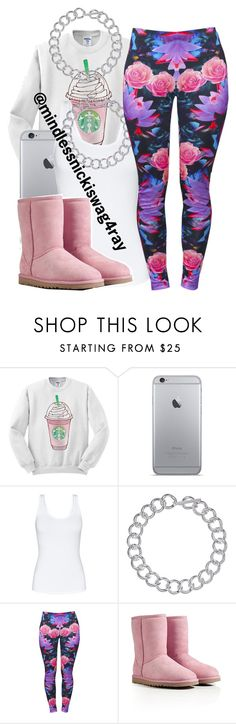 """Starbucks Hoe."" by spoiledg16 ❤ liked on Polyvore featuring Talula, Lauren Ralph Lauren, Luca Michele and UGG Australia"