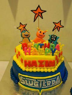 Slugterra cake