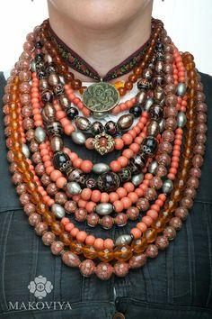 Beautiful Ukrainian jewelry.