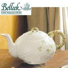 Belleek. Irish, classic, china perfection. Even good ol' Lipton tea should taste 10 times better from this pot