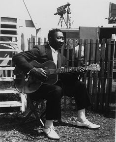 Muddy Waters by William Claxton, Newport 1960