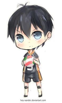 Kageyama Tobio - Chibi (Haikyuu) by Hey-Xander.deviantart.com on @deviantART