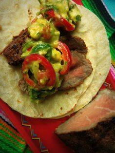 Chipotle-Marinated Steak Tacos - Hispanic Kitchen