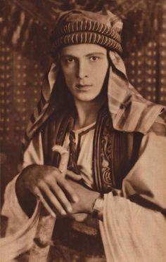 The Sheik (1921) - Mar 1922 MW - Rudolph Valentino - Wikimedia Commons