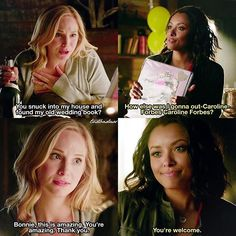 [8x03 - You Decided That I Was Worth Saving] All these Baroline scenes had me like ⠀ Q: Would you rather like to have Caroline or Bonnie as best friend? ⠀ My edit give credit [#baroline#carolineforbes#bonniebennett#tvd#thevampirediaries#vampirediaries#tvdforever#8x03|133.9k]
