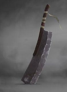 ArtStation - Goliath, Matias Trabold Rehren Zombie Weapons, Ninja Weapons, Anime Weapons, Fantasy Sword, Fantasy Weapons, Fantasy Art, Armas Ninja, Sword Design, Prop Design