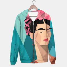 Frida Kahlo Cubista Sudadera con capucha by SNS Design 59.95€