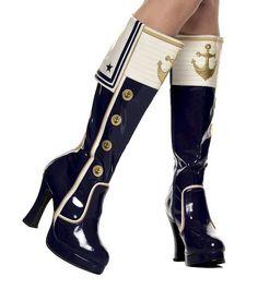 Sailor boots