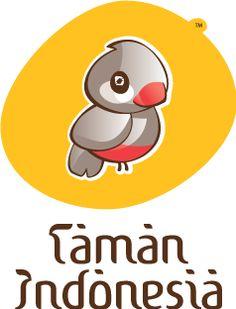 Het logo van Taman Indonesia; de Gelatik, het Rijstvogeltje