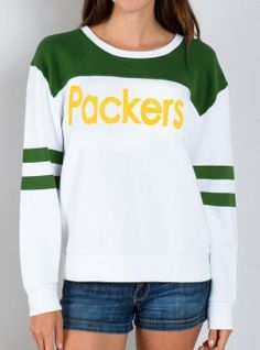 NFL Green Bay Packers Sweatshirt- I want this in Denver Broncos $65.00 on sale for $32.50