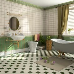 Flower Power: Add a few strategically placed decorative flowers to your bathroom to brighten up the mood.