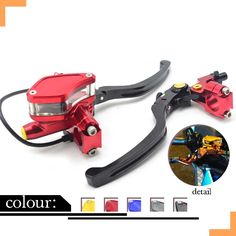 """89.99$  Buy here - http://alizws.worldwells.pw/go.php?t=32771608176 - """"CNC Brake Master Cylinder with Lever 7/8"""""""" 22MM Universal handlebar Clutch Lever Brake Pump Lever moto for yamaha fz6 honda cb400"""""""