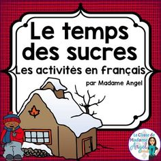 """""""Le temps des sucres"""" Themed Vocabulary Activities in French Word Work Activities, Spelling Activities, Vocabulary Activities, Learning Activities, Daycare Themes, Word Work Centers, Literacy Programs, Teaching French, Activity Centers"""