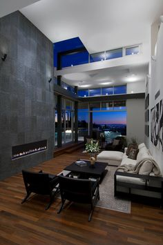 Bowery Interior Architecture  #interiors #living room #room with a view