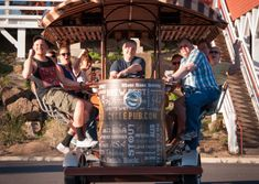 The original Cycle Pub tours that started it all in Bend! Experience the best Bend breweries on our Pub Tour, or Discover fun facts on our City Sights Tour. Beer Bike, Bend, Brewery, Vip, Fun Facts, Cycling, This Is Us, Wheels, Tours