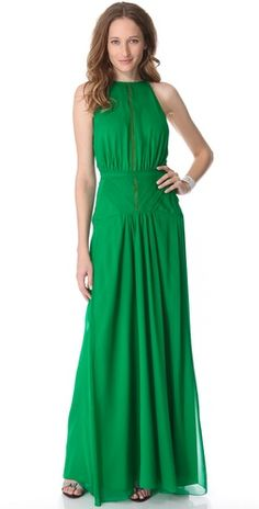 Kelly Green Dress