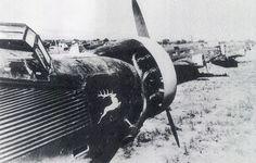 Unternehmen Merkur Junkers Ju 52 on Maleme AF Crete 1941 - pin by Paolo Marzioli Paratrooper, Luftwaffe, Battle Of Crete, Greek History, Ww2 Aircraft, German Army, Military History, World War Two, Wwii