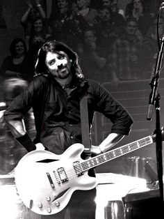 Dave Grohl, the second spot on the man list because, well, he's Dave Grohl!