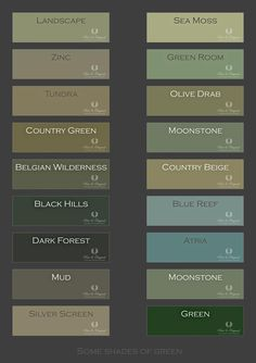 Best Home Color Palette Green Paint 45 Ideas Green Paint Colors, Green Colour Palette, Room Colors, House Colors, Colour Palettes, Paint Schemes, Colour Schemes, Interior Paint Colors For Living Room, Diy Home Decor For Apartments