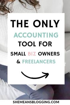 The Only Tool For Small Biz Owners And Freelancers Are you a small business owner, entrepreneur or m Best Accounting Software, Small Business Accounting, Business Tips, Business Essentials, Online Business, Marketing Topics, Business Entrepreneur, Business Education, Financial Tips