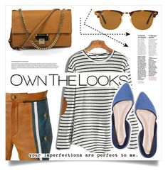 """""""OWN LO"""" by virgamaleva ❤ liked on Polyvore featuring Ray-Ban, WithChic, Chloé and Jimmy Choo"""