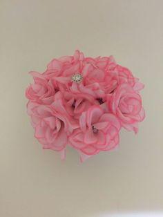 ELIXITA Centerpiece Wedding Decoration Baby Shower Flowers Silk Christmas Gem #ELIXITA