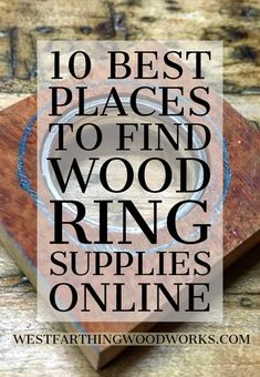 Your only source for finding wooden ring making materials online and everything you would never need to make great looking rings. Enjoy and Happy Building. Wooden Rings Craft, Wood Rings, Wooden Crafts, Wooden Jewelry, Diy Jewelry, Metal Jewelry, Jewelry Rings, Jewlery, Silver Jewelry