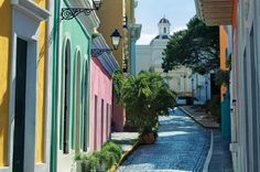 Puerto Rico!! My favorite weekend haunt was the streets of Old San Juan. Especially when the cruise ships were in. All the shops were open!