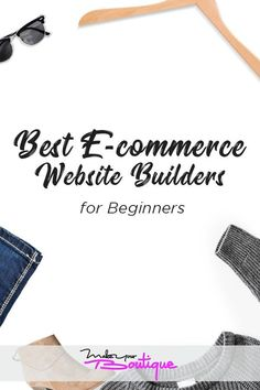 Best e commerce website builders for beginners. If you're looking to start an online store, it can be intimidating to get all the technical stuff set up. Here's a guide for non techies that will help get you up and running. Home Based Business, Business Tips, Online Business, Successful Business, Craft Business, Street Marketing, Guerilla Marketing, Business Marketing, Starting An Online Boutique
