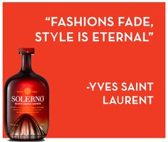 The iconic Yves Saint Laurent was onto something here! To have your fashion house last so long, this quote sums up why. A beautiful succinct quote from the ever stylish YSL.